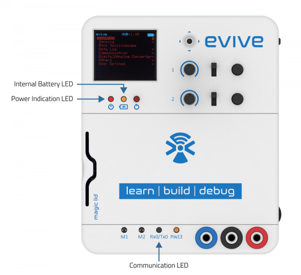 evive non-programmable LED