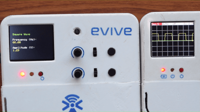 evive Function Generator Square Wave