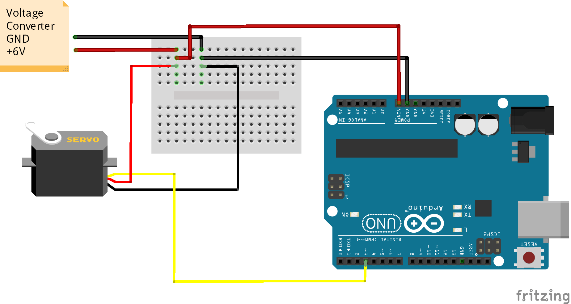 Arduino Uno Servo Wiring Diagrams Simple Diagram Site Circuit As Described In The Datasheet Of Max7219 Controlling Motor Setting Angle Using Ide Stempedia Layout