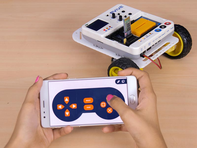 Control your Robot with Smartphone