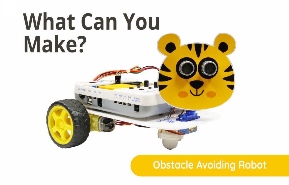 Obstacle Avoiding Robot - science project ideas