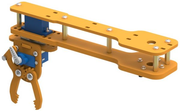 mounting gripper on link 2