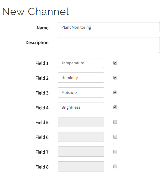 Channel Setting