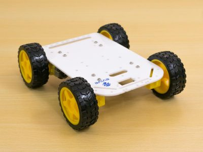 Make Robots with Four Wheel Drive Robot Kit