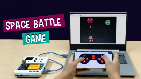 Space-Battle-Game on Scratch