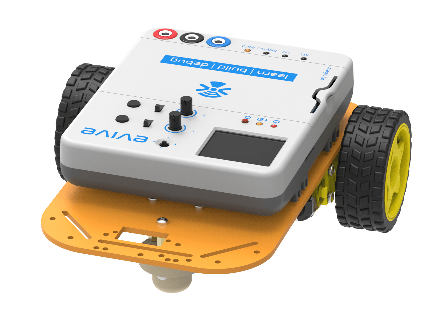 How to make a DIY Joystick Controlled Mobile Robot using arduino