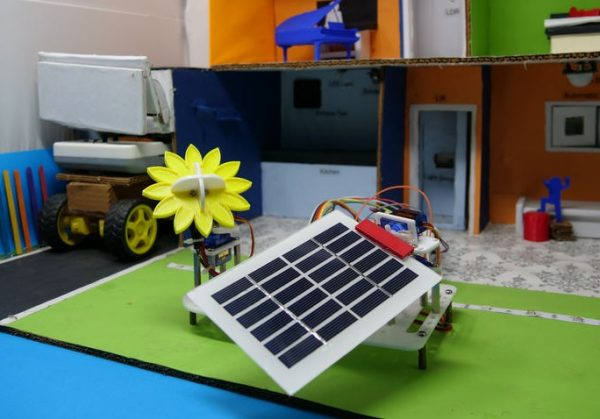 How to build a DIY solar/sun tracker using Arduino Projects