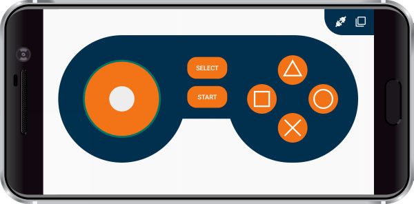 Dabble Game Pad Joystick