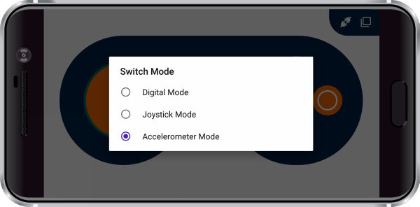 Dabble Game Pad Switch Mode Accelerometer