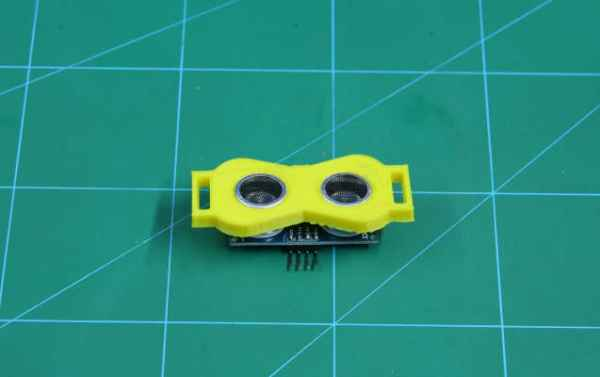 Add ultrasonic to 3D Printed part