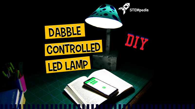 Dabble Controlled LED Lamp