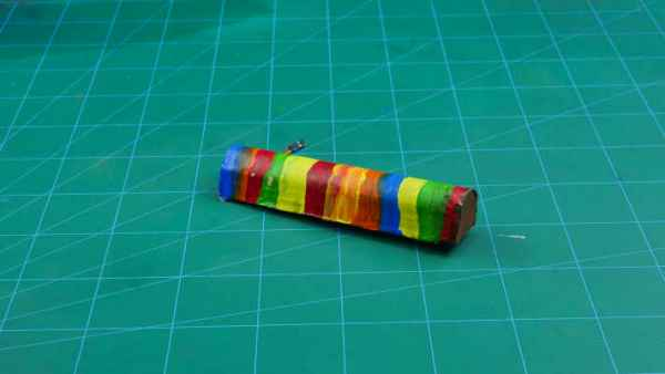 colored dc motor cover
