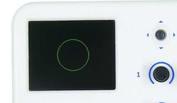 evive TFT Display Circle Outline