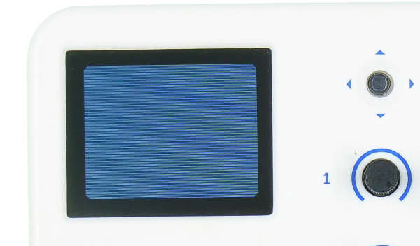 evive TFT Display Filled Rectangle