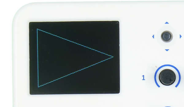 evive TFT Display Triangle Outline