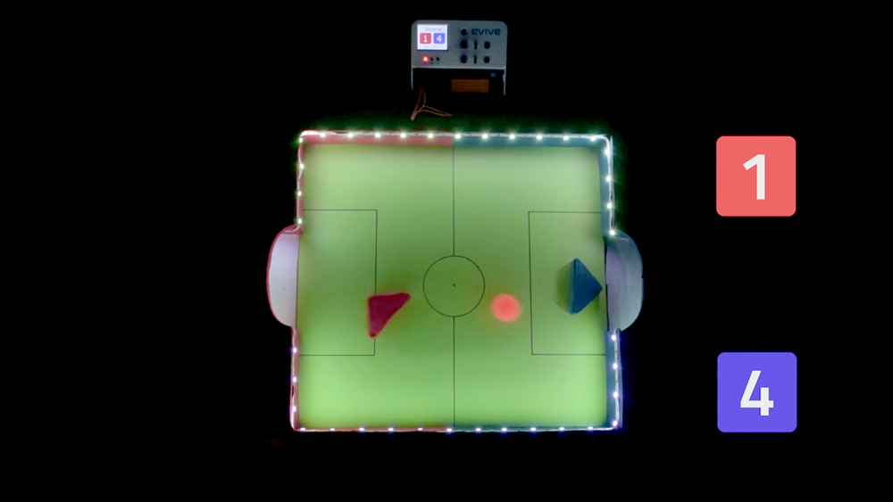 Magnetic Hockey Table