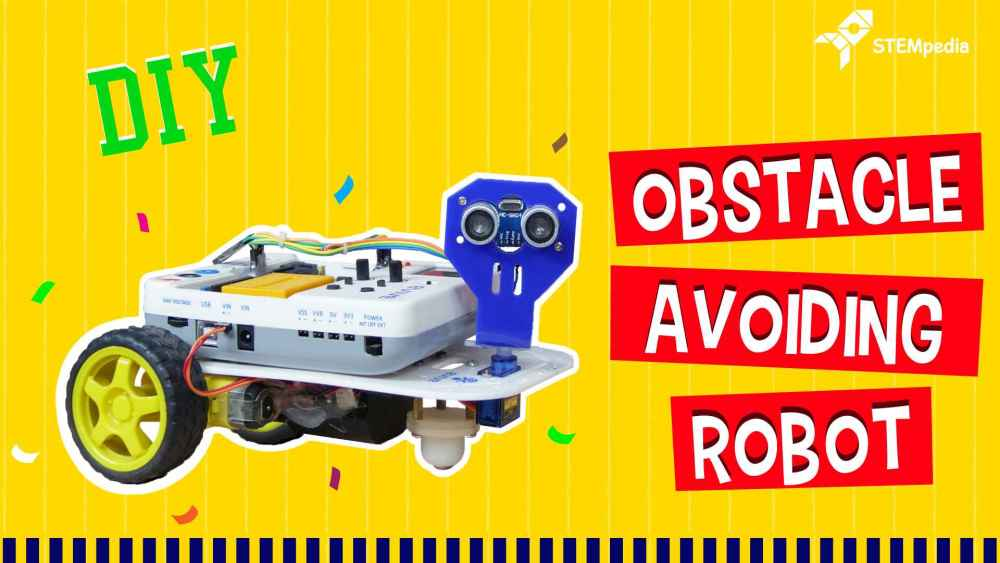 Obstacle-avoiding-robot