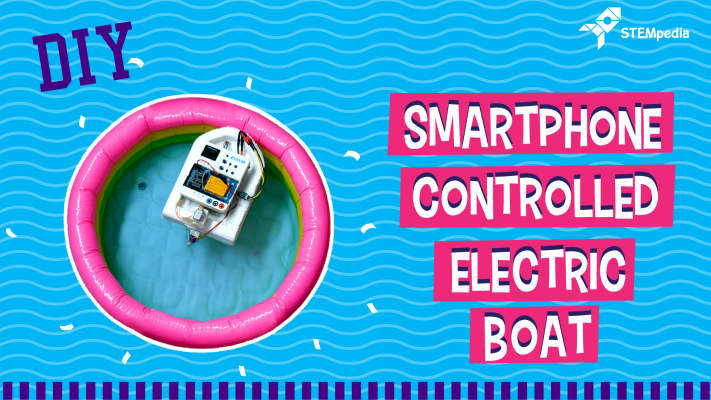 Smartphone-Controlled-Electric-Boat