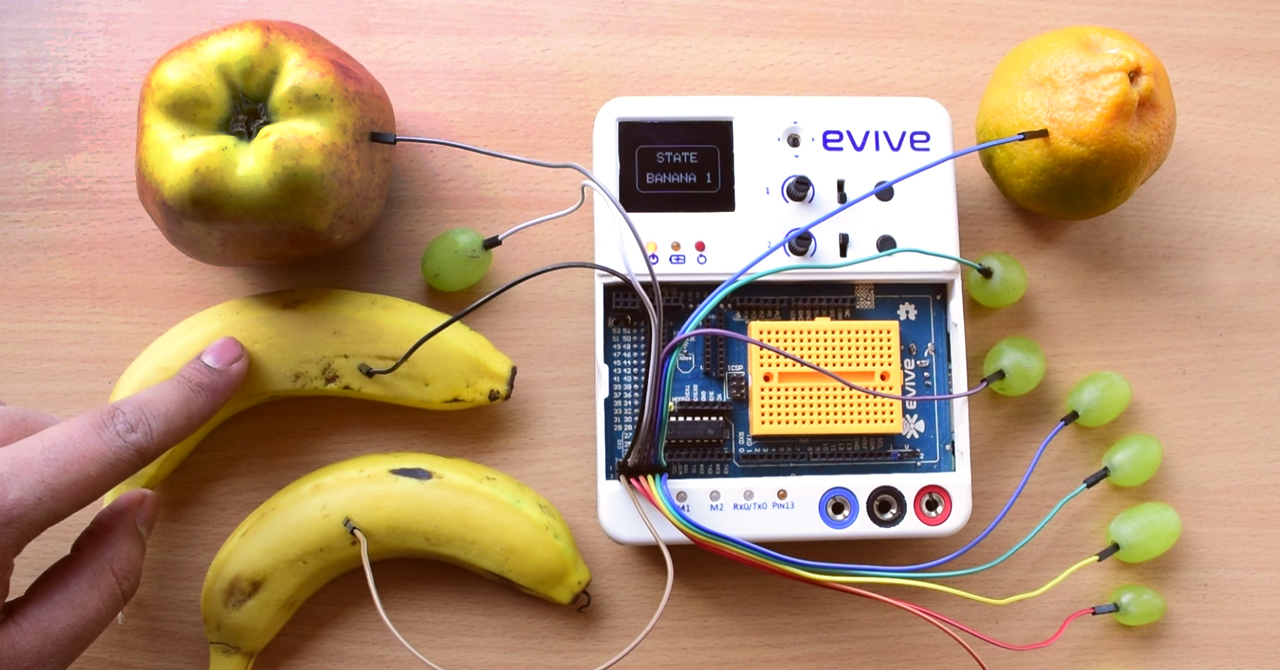 Touch-Based Fruit Piano