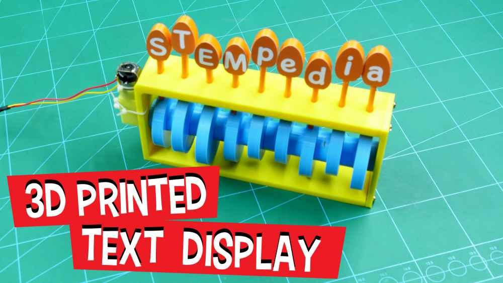 3D-Printed-Text-Display