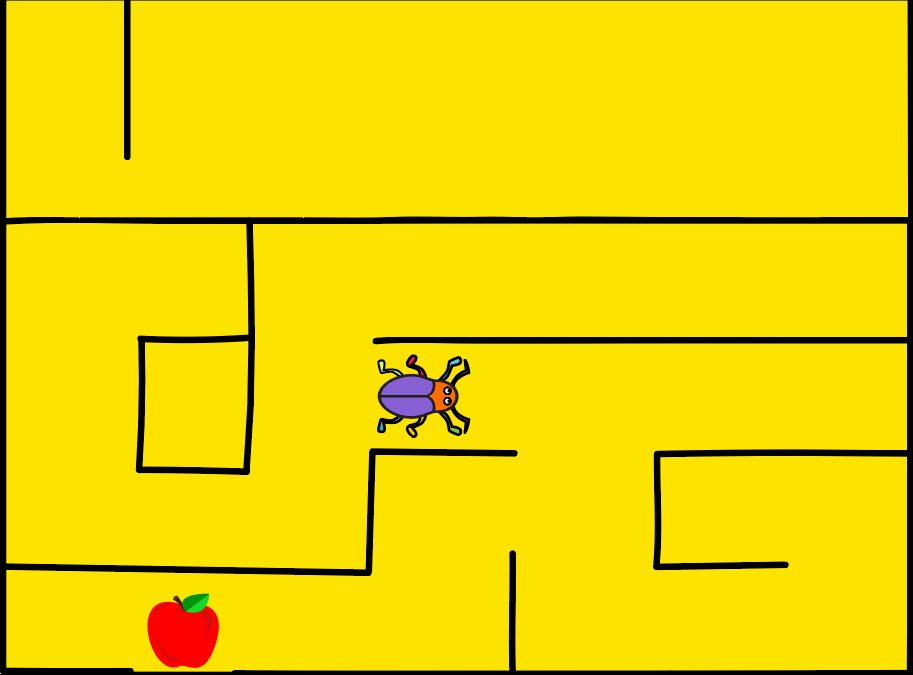 Beetle in a Maze