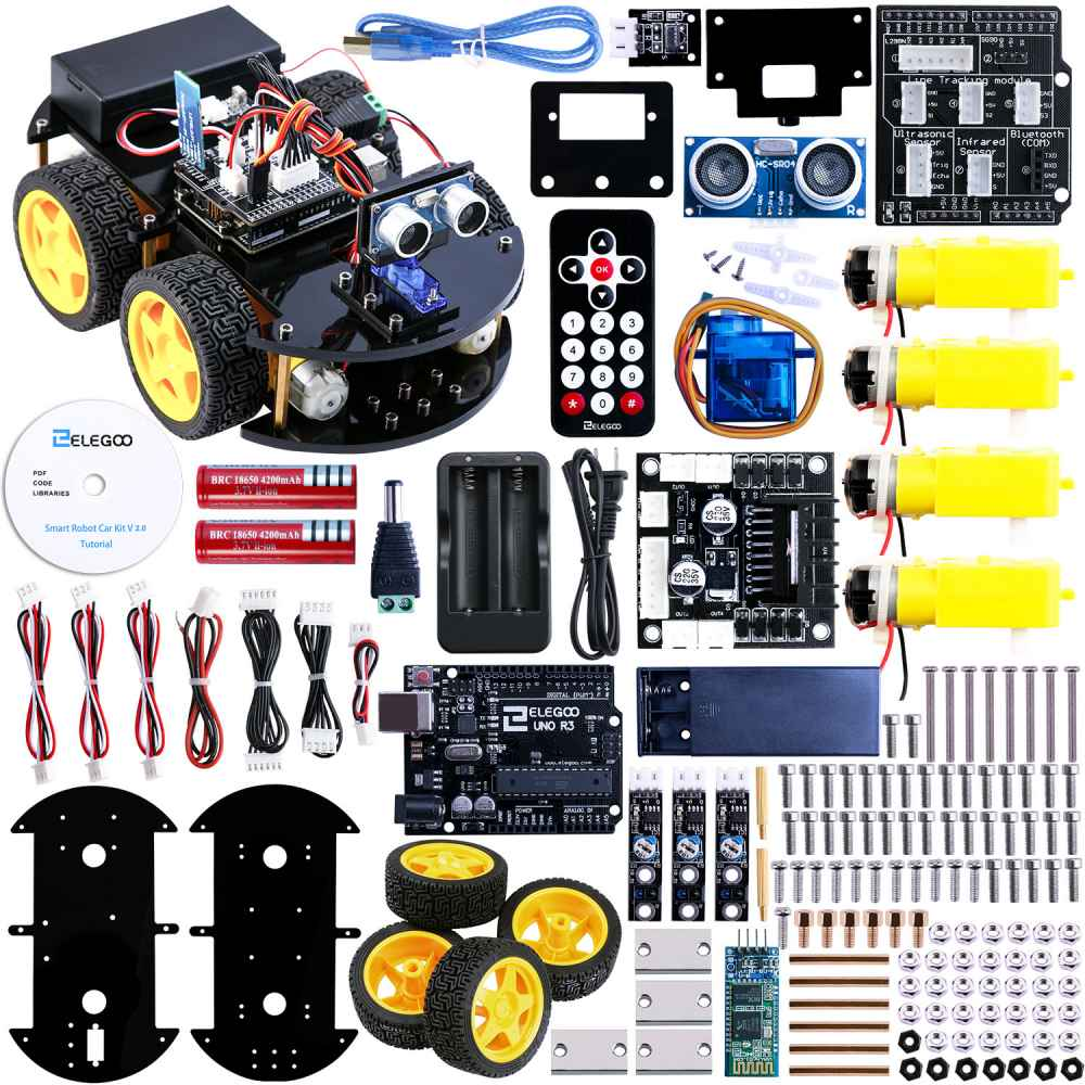 UNO: Project Upgraded Smart Car Kit