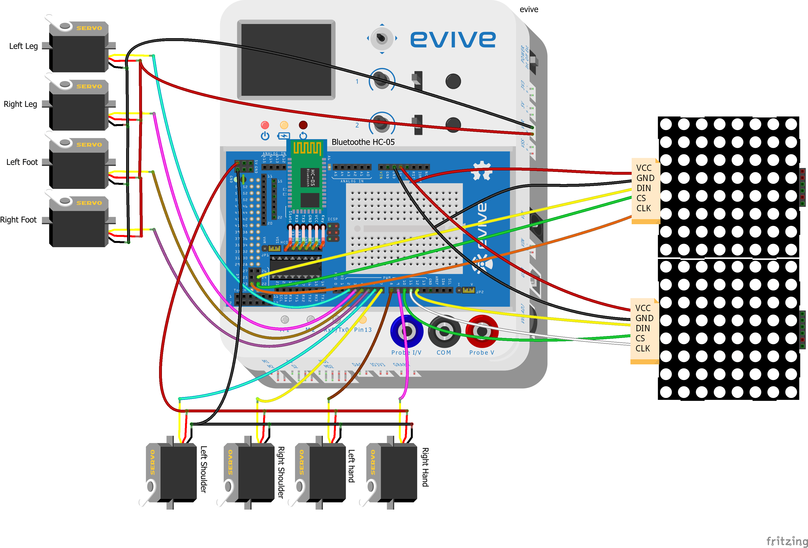 Biped Circuit COnnections