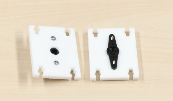 shoulder servo horn plate