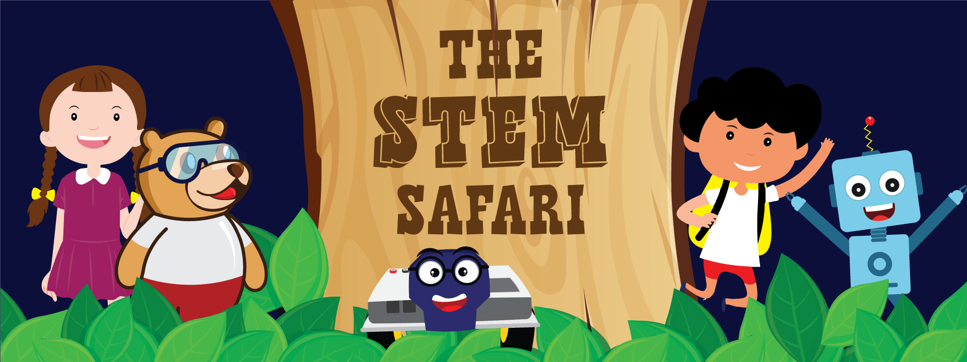 STEM Safari Cover Page