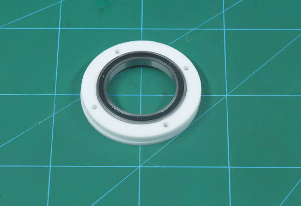 add middle outer bearing disc 2
