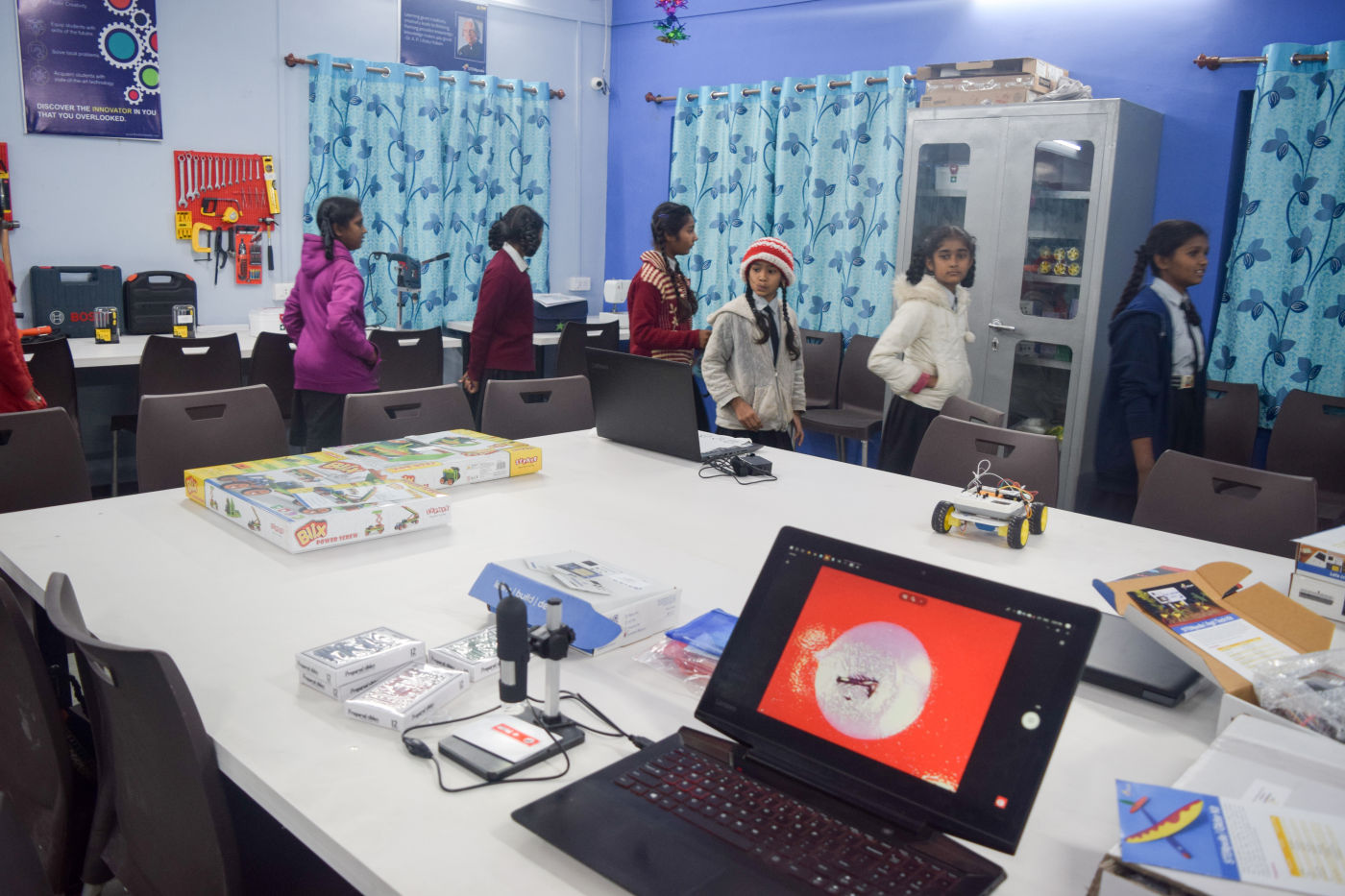 Atal Tinkering Lab at New Education School Petlad, Anand