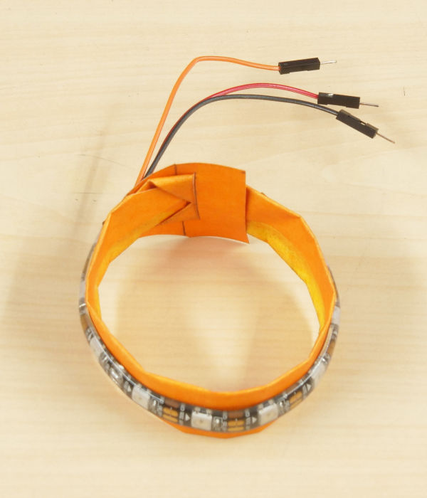 DIY Bracelet Using RGB LED Strip 1