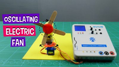 DIY Oscillating Electric Fan
