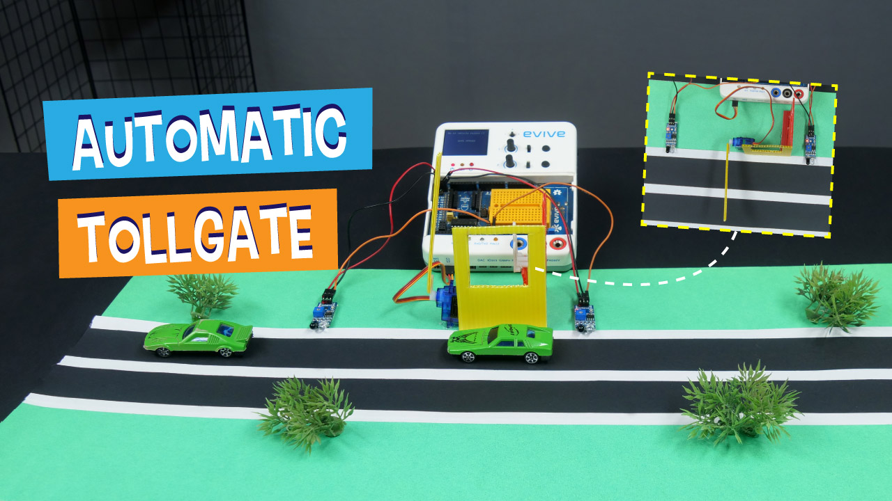 Make Automatic Electric Toll Booth Gate Opener Diy Stem