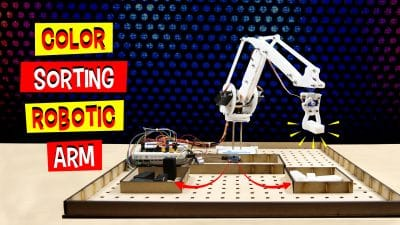 DIY Color Sorting Robotic Arm