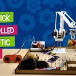 DIY Joystick Controlled Robotic Arm