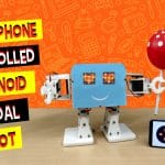 DIY Smartphone Controlled Humanoid Bipedal Robot