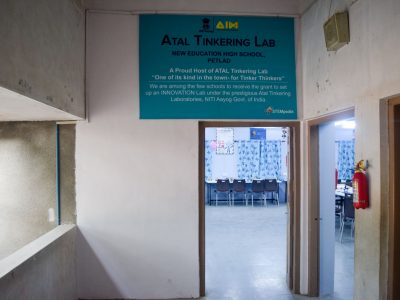 Atal Tinkering Lab Setup & ATL Inauguration in New Education High School Petlad Anand by STEMpedia-25