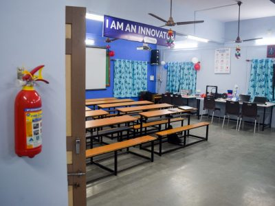 Atal Tinkering Lab Setup & ATL Inauguration in New Education High School Petlad Anand by STEMpedia-28