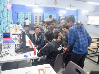 Atal Tinkering Lab Setup & ATL Inauguration in New Education High School Petlad Anand by STEMpedia-32