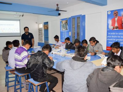 Atal Tinkering Lab Workshop BD Kalariya Jamnagar by STEMpedia-1