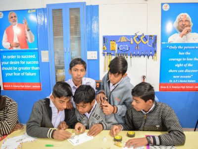 Atal Tinkering Lab Workshop BD Kalariya Jamnagar by STEMpedia-6