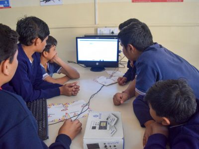 Atal Tinkering Lab Workshop on Robot Making Bharad by STEMpedia-7