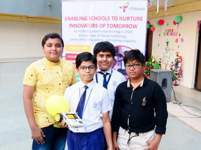 Best Higher Secondary School Ahmedabad Atal Tinkering Workshop Competition and Exhibition-12