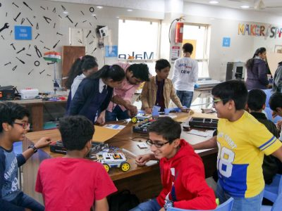 Best Higher Secondary School Ahmedabad Atal Tinkering Workshop Competition and Exhibition-29