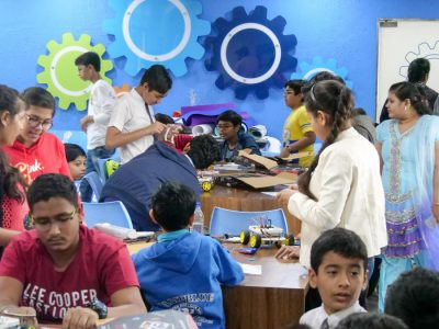 Best Higher Secondary School Ahmedabad Atal Tinkering Workshop Competition and Exhibition-31