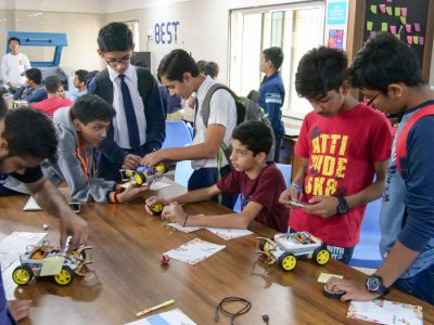Best Higher Secondary School Ahmedabad Atal Tinkering Workshop Competition and Exhibition-38