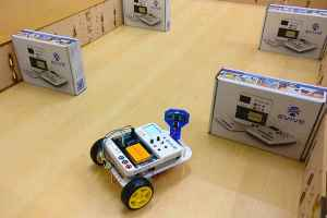 Obstacle Avoidance Robot Working