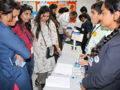 Year End Workshop and Exhibition STEM Lab Mount Litera Zee School Ahmedabad STEMpedia-10